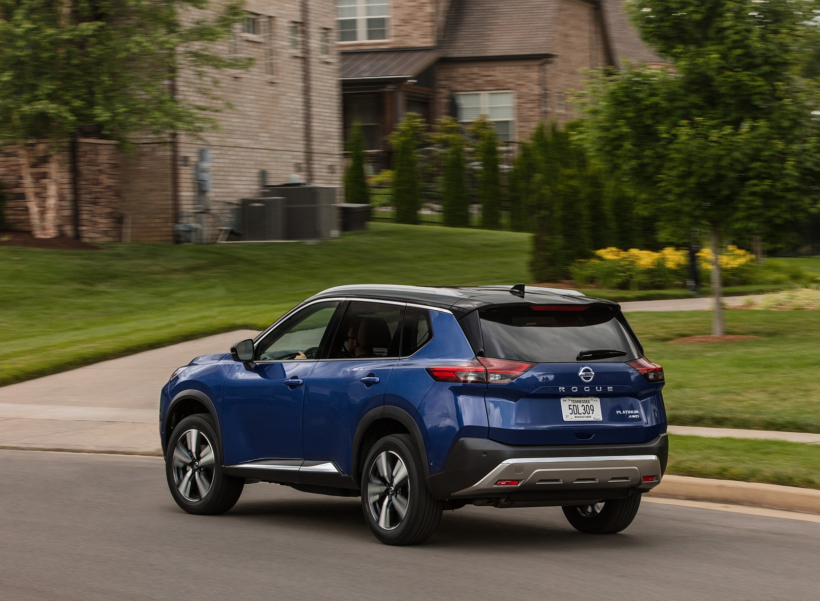 2021 Nissan Rogue Rear Three-Quarter Wallpapers (10)