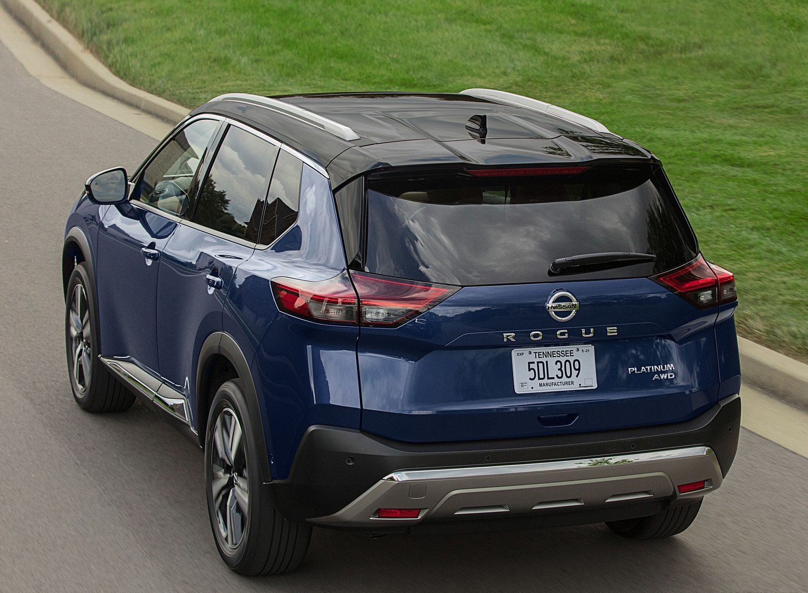 2021 Nissan Rogue Rear Three-Quarter Wallpapers (6)