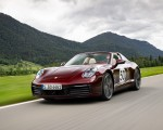 2021 Porsche 911 Targa 4S Heritage Design Edition (Color: Cherry Metallic) Front Three-Quarter Wallpapers 150x120 (1)