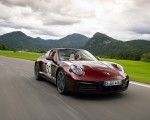 2021 Porsche 911 Targa 4S Heritage Design Edition (Color: Cherry Metallic) Front Three-Quarter Wallpapers 150x120 (2)
