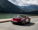 2021 Porsche 911 Targa 4S Heritage Design Edition (Color: Cherry Metallic) Front Wallpapers 150x120 (3)