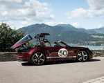 2021 Porsche 911 Targa 4S Heritage Design Edition (Color: Cherry Metallic) Rear Three-Quarter Wallpapers 150x120 (37)