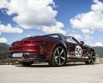 2021 Porsche 911 Targa 4S Heritage Design Edition (Color: Cherry Metallic) Rear Three-Quarter Wallpapers 150x120 (34)