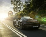 2021 Porsche 911 Targa 4S Heritage Design Edition (Color: Cherry Metallic) Rear Three-Quarter Wallpapers 150x120 (15)
