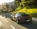 2021 Porsche 911 Targa 4S Heritage Design Edition (Color: Cherry Metallic) Rear Three-Quarter Wallpapers 150x120 (11)