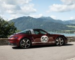 2021 Porsche 911 Targa 4S Heritage Design Edition (Color: Cherry Metallic) Side Wallpapers 150x120 (38)