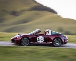 2021 Porsche 911 Targa 4S Heritage Design Edition (Color: Cherry Metallic) Side Wallpapers 150x120 (16)