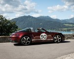 2021 Porsche 911 Targa 4S Heritage Design Edition (Color: Cherry Metallic) Side Wallpapers 150x120 (24)