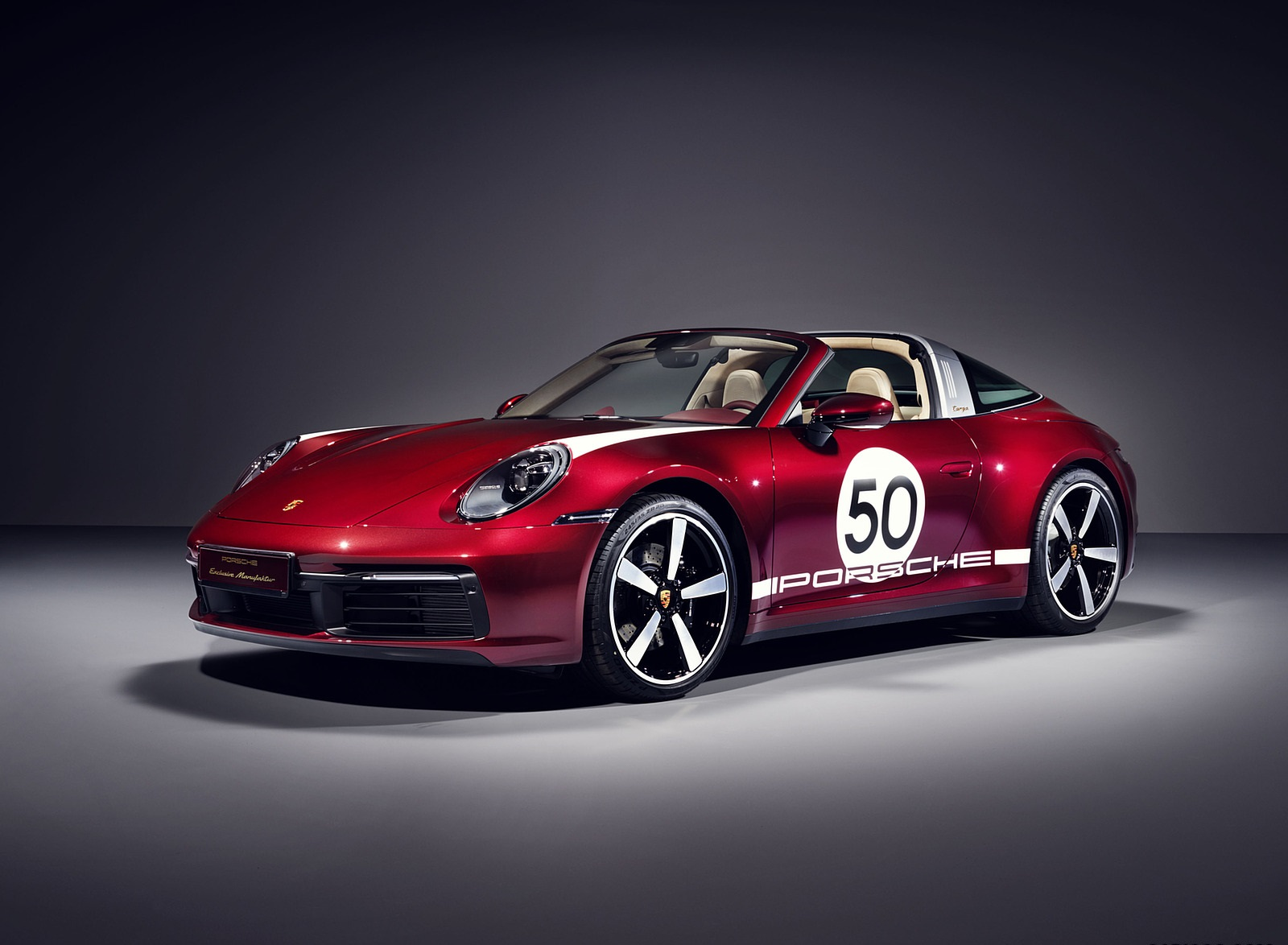 2021 Porsche 911 Targa 4S Heritage Design Edition Front Three-Quarter Wallpapers (1)