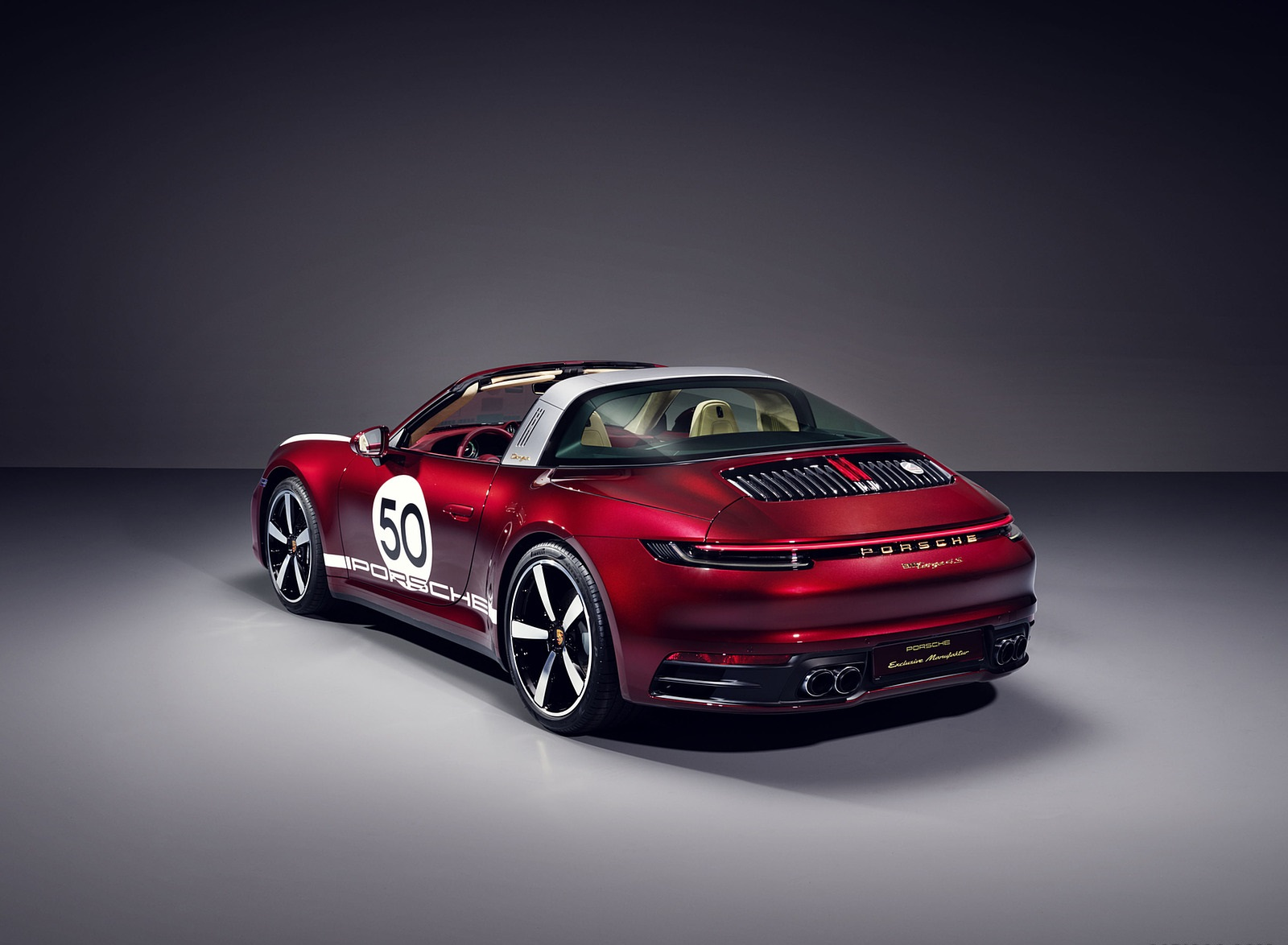 2021 Porsche 911 Targa 4S Heritage Design Edition Rear Three-Quarter Wallpapers (2)