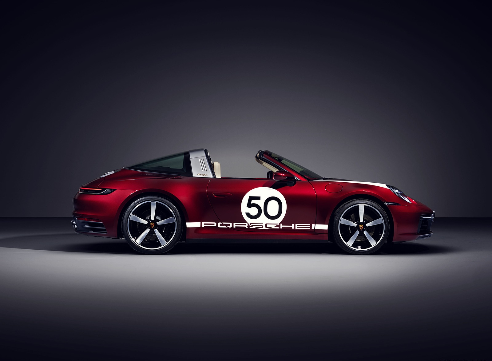 2021 Porsche 911 Targa 4S Heritage Design Edition Side Wallpapers (3)