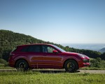 2021 Porsche Cayenne GTS (Color: Carmine Red) Side Wallpapers 150x120 (18)