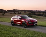 2021 Porsche Cayenne GTS Coupe (Color: Carmine Red) Front Three-Quarter Wallpapers 150x120 (24)
