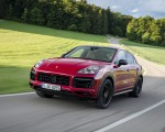 2021 Porsche Cayenne GTS Coupe (Color: Carmine Red) Front Three-Quarter Wallpapers 150x120 (2)