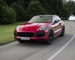2021 Porsche Cayenne GTS Coupe (Color: Carmine Red) Front Three-Quarter Wallpapers 150x120 (3)