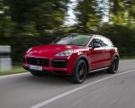 2021 Porsche Cayenne GTS Coupe (Color: Carmine Red) Front Three-Quarter Wallpapers 150x120 (4)