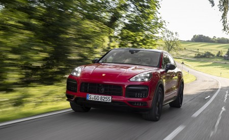 2021 Porsche Cayenne GTS Coupe (Color: Carmine Red) Front Wallpapers 450x275 (7)