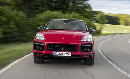 2021 Porsche Cayenne GTS Coupe (Color: Carmine Red) Front Wallpapers 450x275 (18)