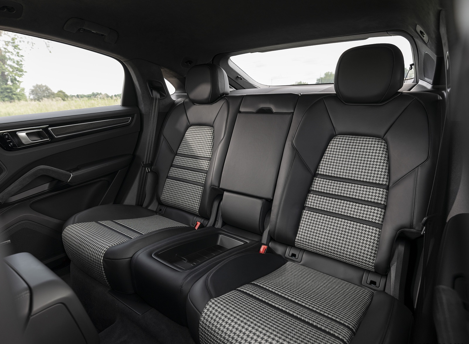 2021 Porsche Cayenne Gts Coupe Color Carmine Red Interior Rear Seats Wallpapers 47 Newcarcars