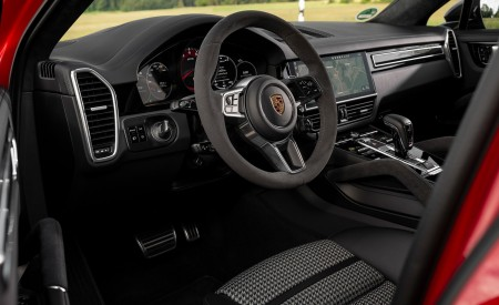 2021 Porsche Cayenne GTS Coupe (Color: Carmine Red) Interior Wallpapers 450x275 (43)