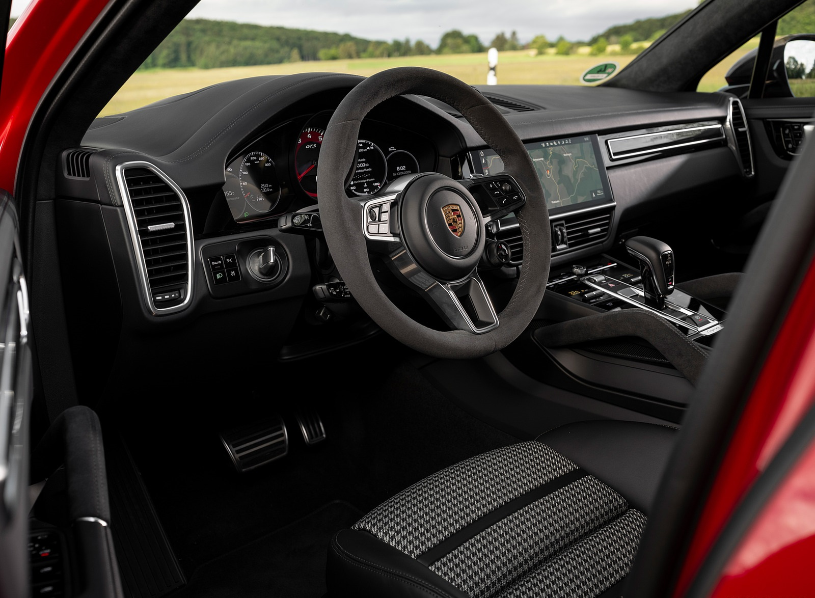 2021 Porsche Cayenne Gts Coupe Color Carmine Red Interior Wallpapers 43 Newcarcars