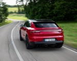 2021 Porsche Cayenne GTS Coupe (Color: Carmine Red) Rear Wallpapers 150x120 (11)