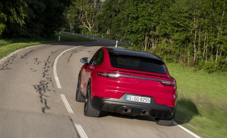 2021 Porsche Cayenne GTS Coupe (Color: Carmine Red) Rear Wallpapers 450x275 (20)