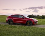 2021 Porsche Cayenne GTS Coupe (Color: Carmine Red) Side Wallpapers 150x120 (32)