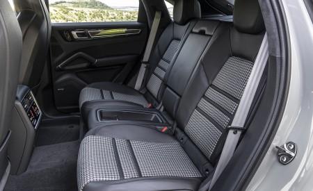 2021 Porsche Cayenne GTS Coupe (Color: Crayon) Interior Rear Seats Wallpapers 450x275 (121)