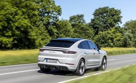 2021 Porsche Cayenne GTS Coupe (Color: Crayon) Rear Three-Quarter Wallpapers 450x275 (61)