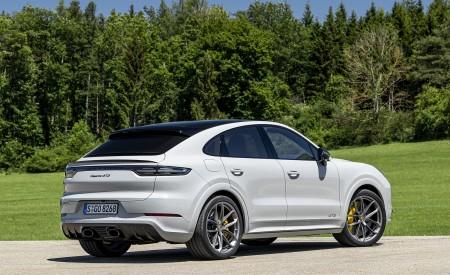 2021 Porsche Cayenne GTS Coupe (Color: Crayon) Rear Three-Quarter Wallpapers 450x275 (95)