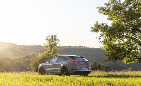 2021 Porsche Cayenne GTS Coupe (Color: Crayon) Rear Three-Quarter Wallpapers 450x275 (88)