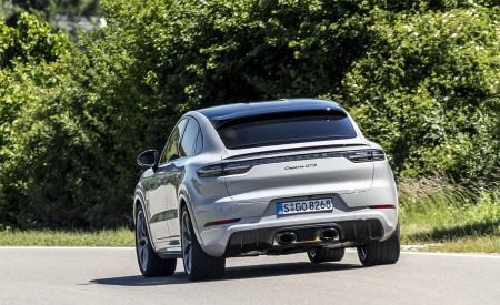 2021 Porsche Cayenne GTS Coupe (Color: Crayon) Rear Wallpapers 450x275 (73)
