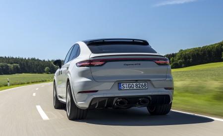 2021 Porsche Cayenne GTS Coupe (Color: Crayon) Rear Wallpapers 450x275 (63)