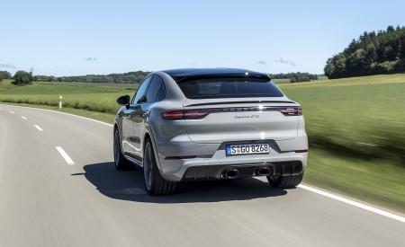 2021 Porsche Cayenne GTS Coupe (Color: Crayon) Rear Wallpapers 450x275 (64)