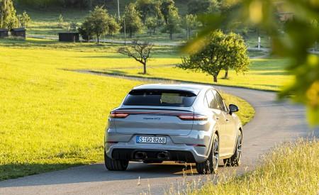 2021 Porsche Cayenne GTS Coupe (Color: Crayon) Rear Wallpapers 450x275 (97)