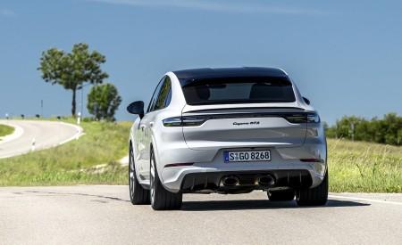 2021 Porsche Cayenne GTS Coupe (Color: Crayon) Rear Wallpapers 450x275 (89)