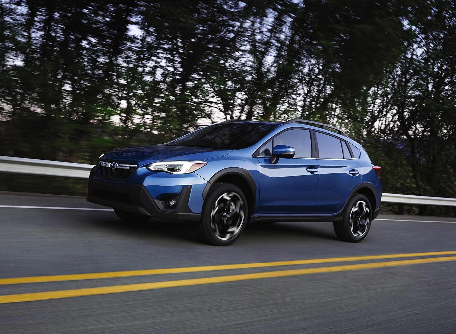 2021 Subaru Crosstrek Limited Front Three-Quarter Wallpapers (1)