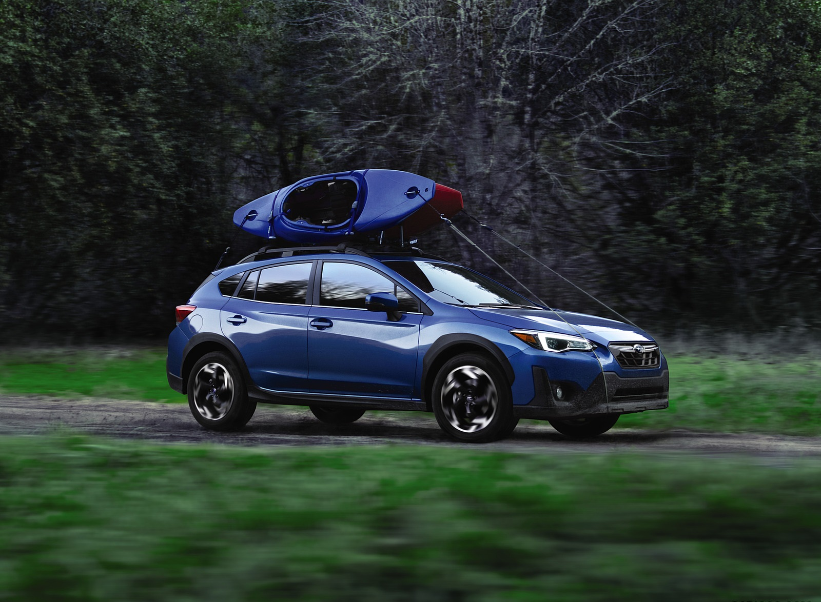 2021 Subaru Crosstrek Limited Front Three-Quarter Wallpapers (3)