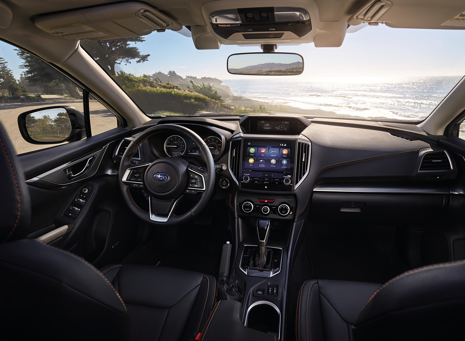 2021 Subaru Crosstrek Limited Interior Wallpapers (8)