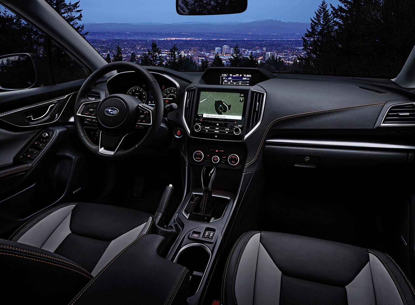 2021 Subaru Crosstrek Limited Interior Wallpapers (7)