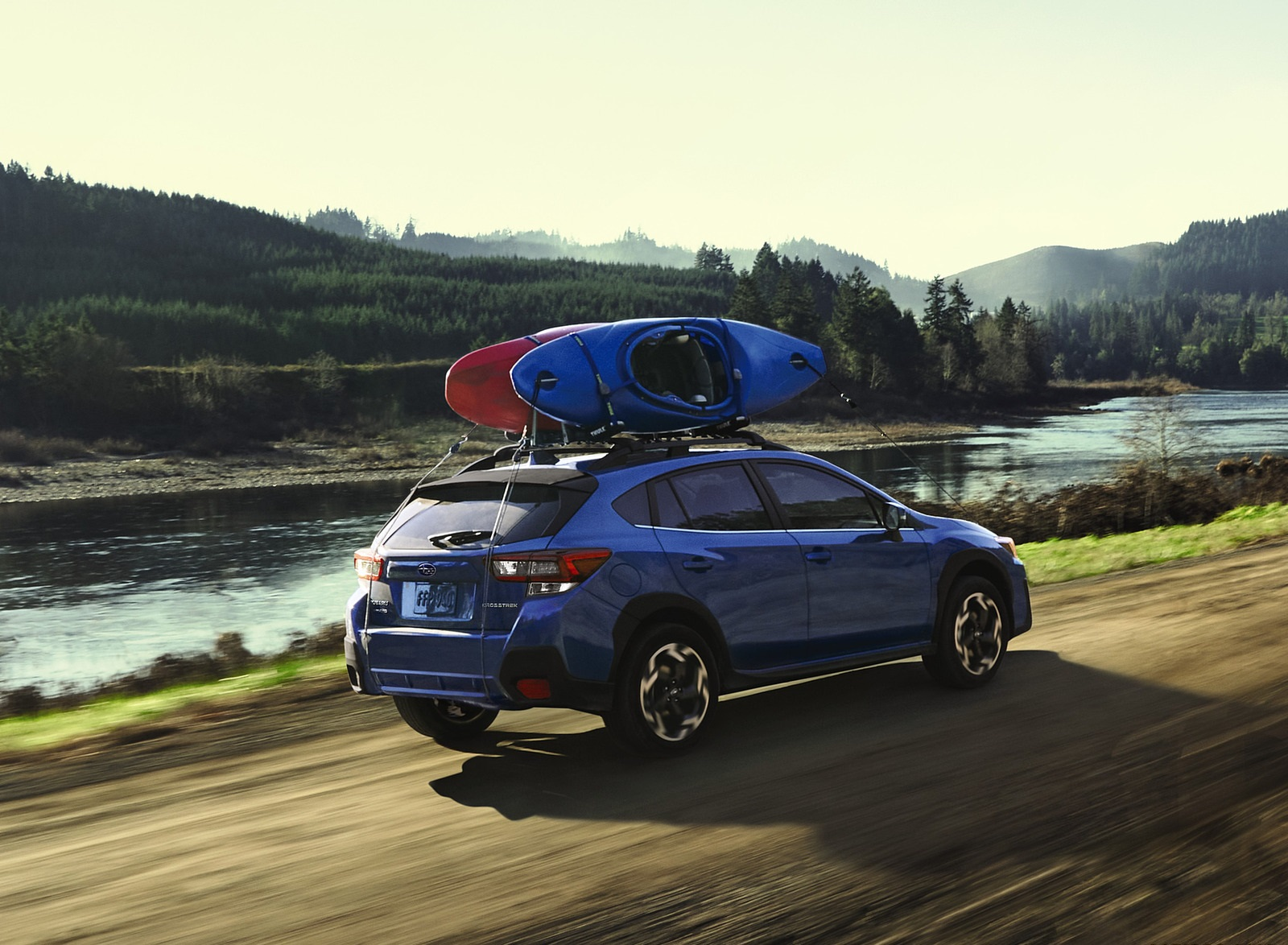 2021 Subaru Crosstrek Limited Rear Three-Quarter Wallpapers (4)