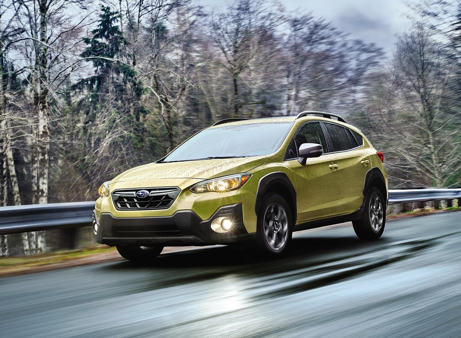 2021 Subaru Crosstrek Sport Front Three-Quarter Wallpapers (1)