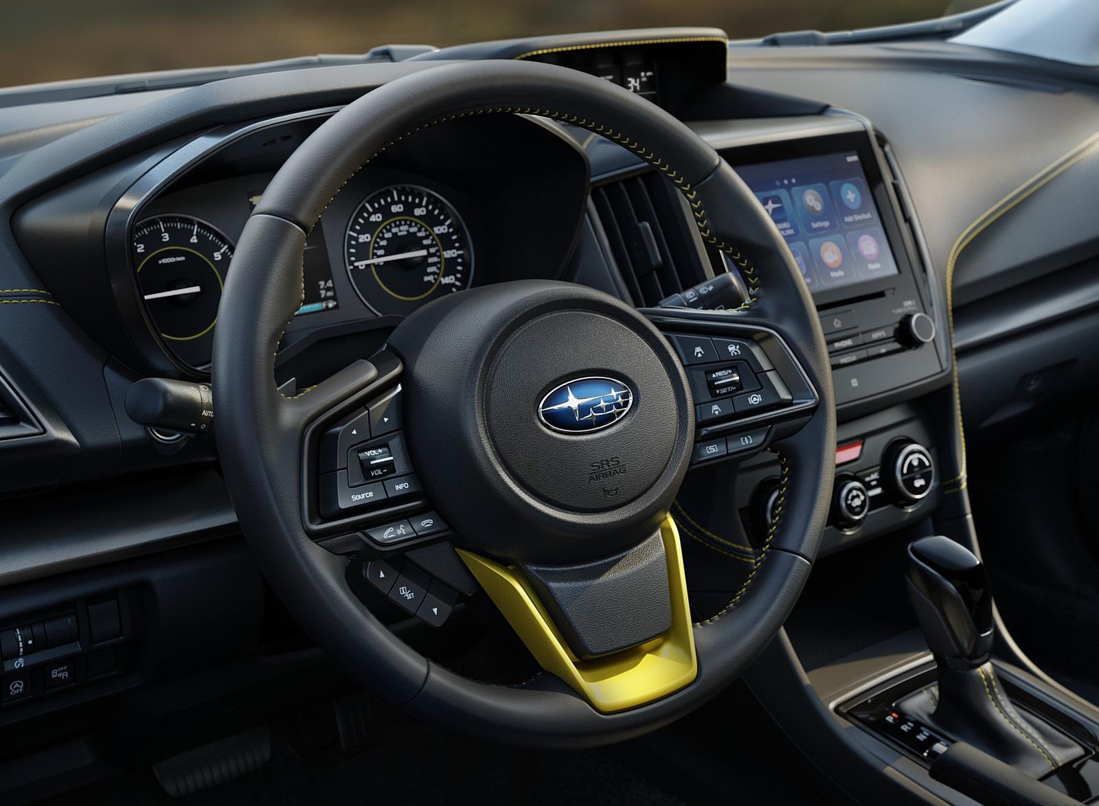 2021 Subaru Crosstrek Sport Interior Steering Wheel Wallpapers (9)