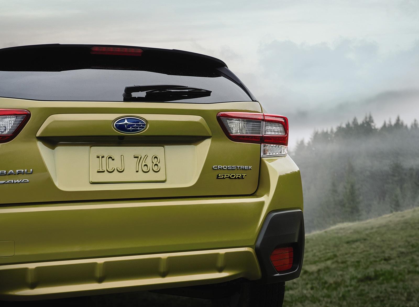 2021 Subaru Crosstrek Sport Tail Light Wallpapers (8)