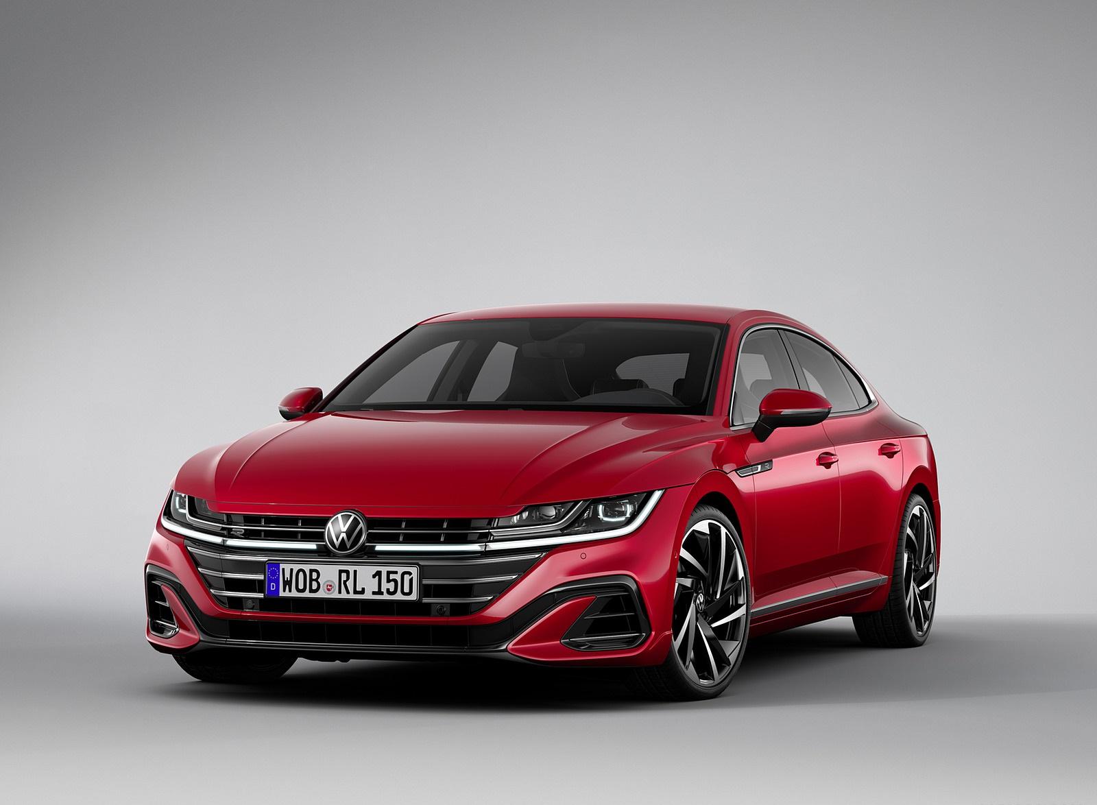 2021 Volkswagen Arteon R-Line Front Three-Quarter Wallpapers (10)