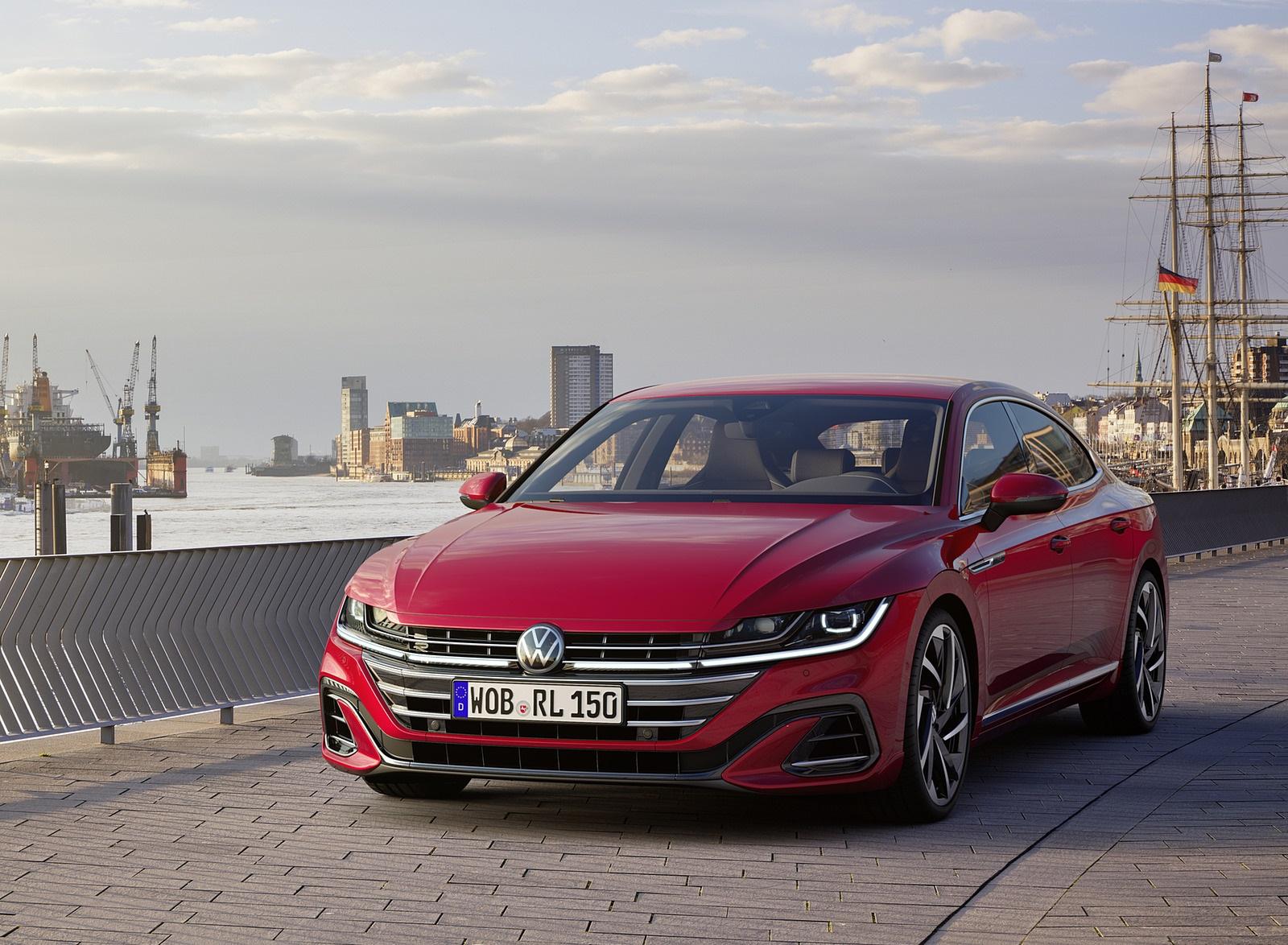 2021 Volkswagen Arteon R-Line Front Wallpapers  (5)