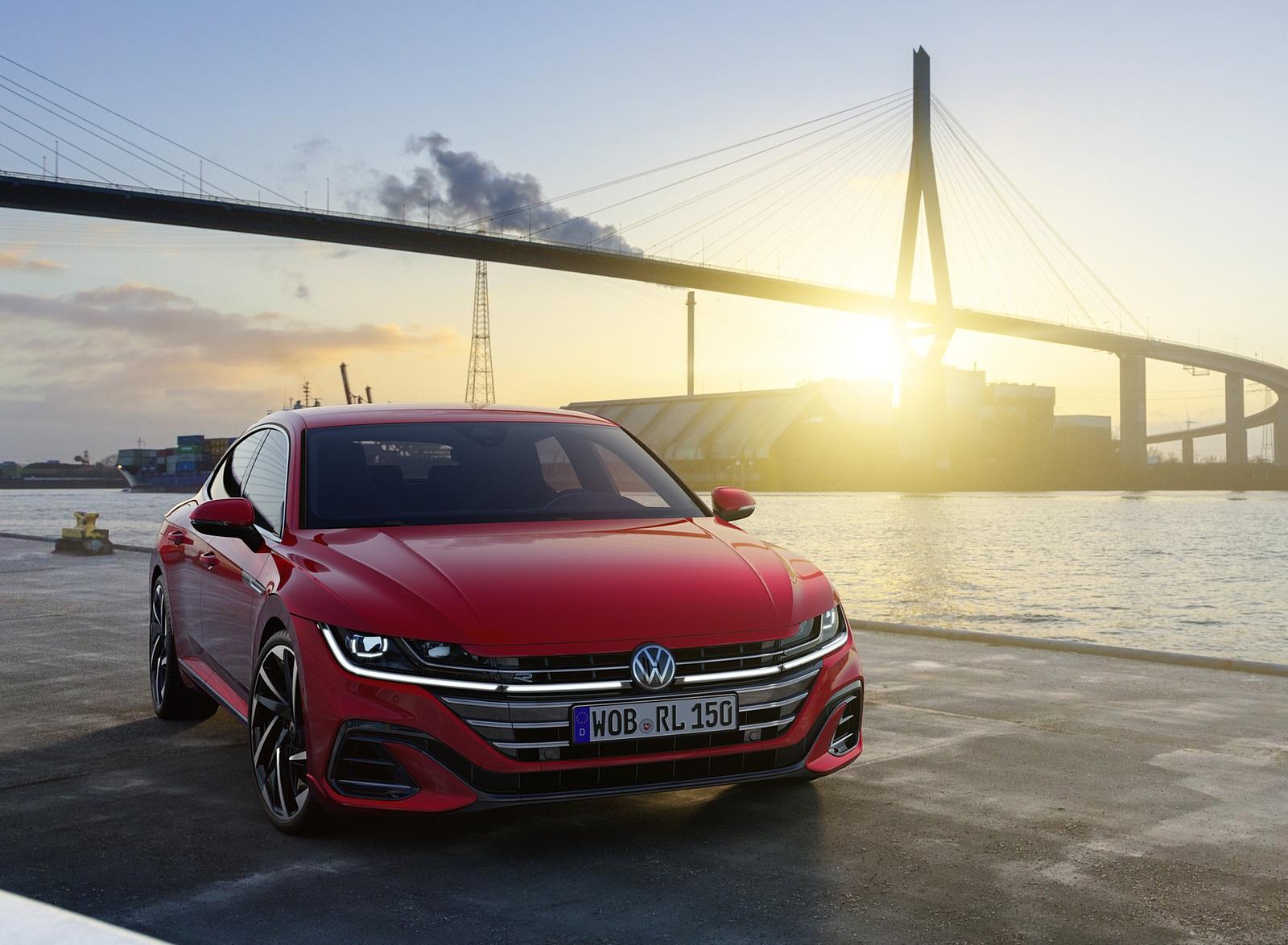 2021 Volkswagen Arteon R-Line Front Wallpapers (6)