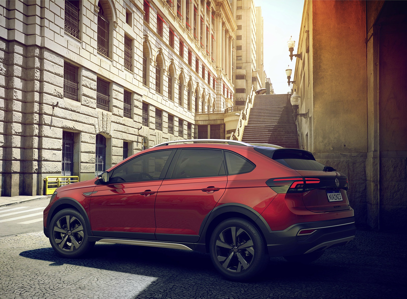 2021 Volkswagen Nivus Rear Three-Quarter Wallpapers (10)
