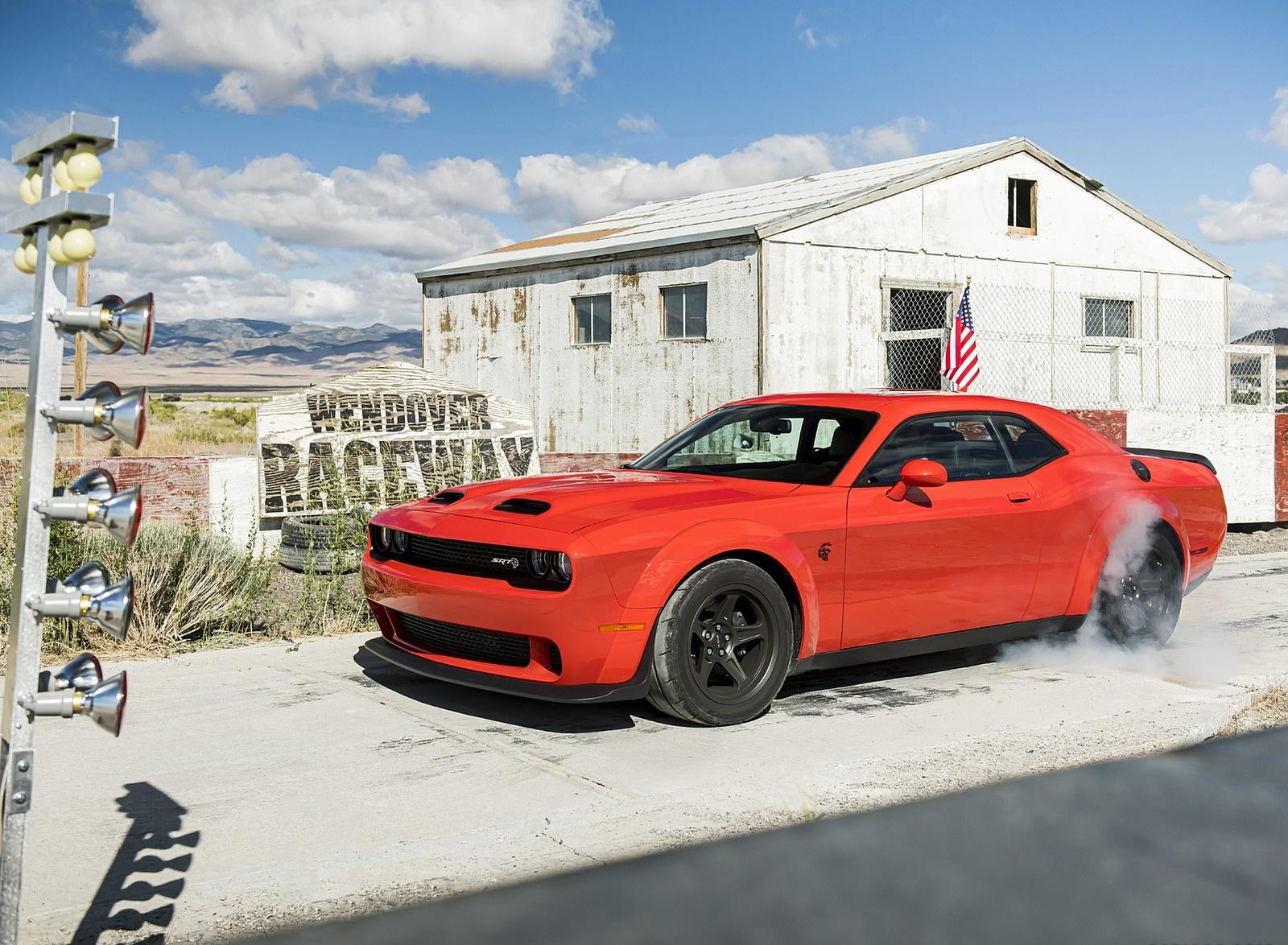 2020 Dodge Challenger SRT Super Stock Front Three-Quarter Wallpapers (6)